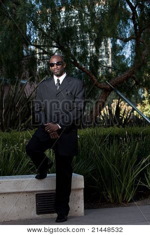 Handsome Forties Black Man