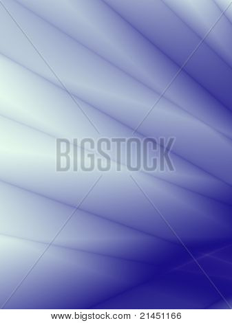 Blue card abstract design