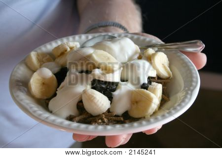 Healthy Bowl Of Breakfast