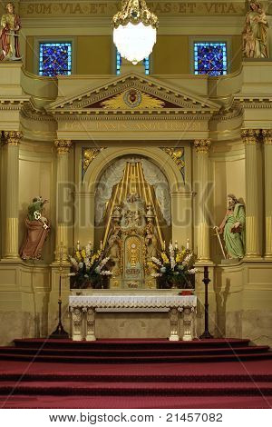 Beautiful Catholic Altar