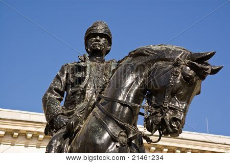 Lord Roberts of Kandahar Monument Statue