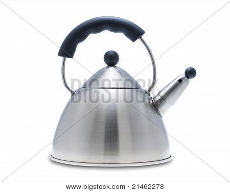 Tea kettle, isolated