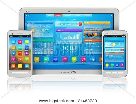 Tablet PC e smartphones