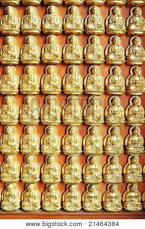10000 Golden Buddha