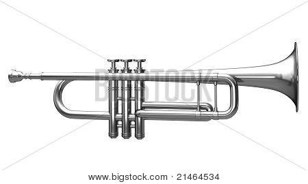 Silver trumpet