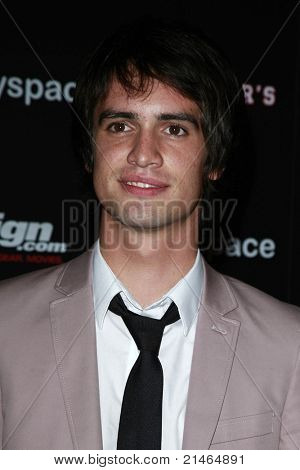 SAN DIEGO - JUL 23: Brendon Urie at the MySpace/IGN Jennifer's Body Party during Comic-Con 2009 held at the Manchester Grand Hyatt Hotel in San Diego, California on July 23, 2009