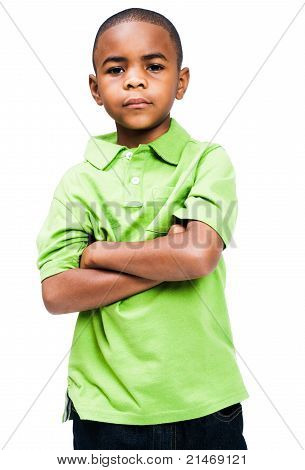 African Boy Standing