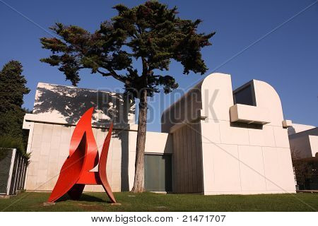Joan Miro Foundation Museum