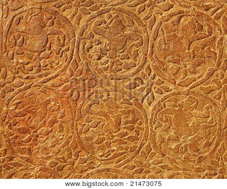 Stone carving detail Angkor Wat