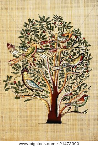 "Papyrus ""The Tree Of Life"""