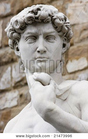 Michelangelo's David in Florence (Italy)