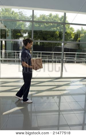 delivery woman