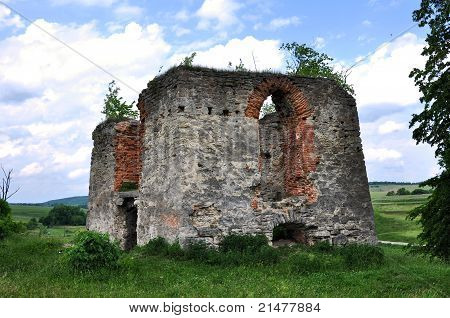 Watchtower Svirzh Castle, Ukraine