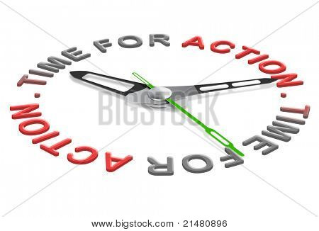 action time start business or sport clock indicating moment for a new start or begin.