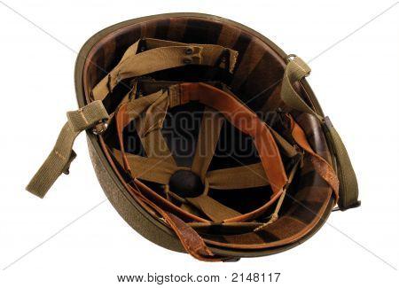 Wwii Era Helmet Inside