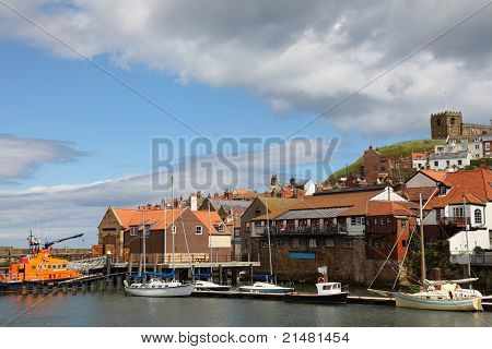Fishing town of Whitby