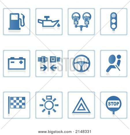 Web Icons : Automobile I