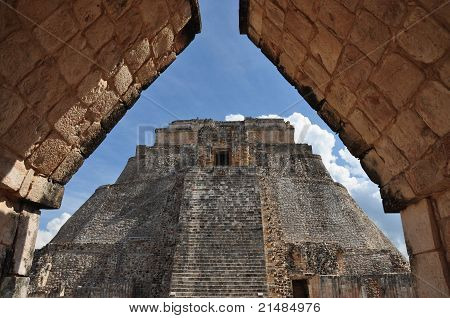 Mayan Temple of the Magician