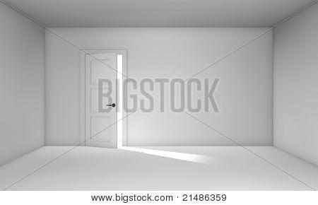 Ajar Door