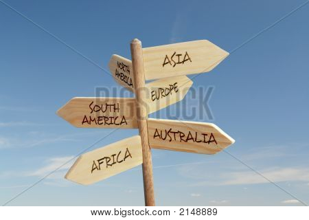 Six Continent Directions