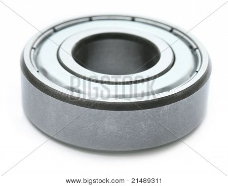 Close up of a ball bearing