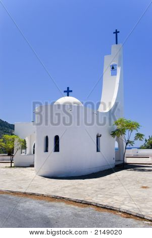 A Small Church In Greece