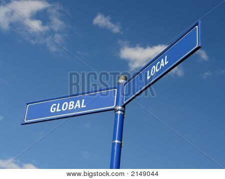 Global And Local Signpost