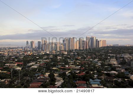 Fort Bonifacio Skyline Manila Philippines