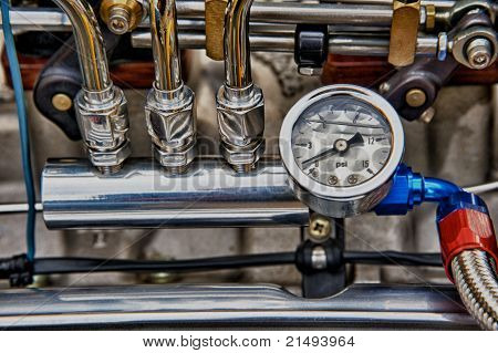 Vintage Engine Detail