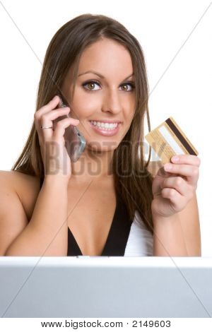 Credit Card Woman