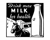 picture of milkman  - Drink More Milk  - JPG