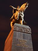 foto of yuri  - The monument to the founder of Moscow - JPG