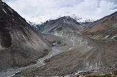 stock photo of sherpa  - Way to Tilicho Lake  - JPG