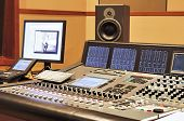 foto of recording studio  - Shot of a recording studio - JPG