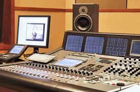 foto of recording studio  - Shot of a recording studio - JPG