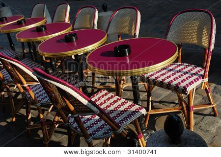 Outdoor Cafe, Paris