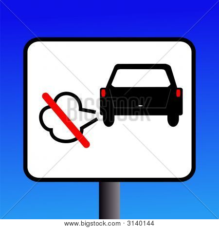 No Engine Idling Sign