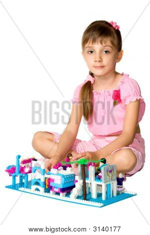 The Girl With Meccano