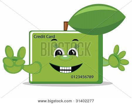 Credit card , vector