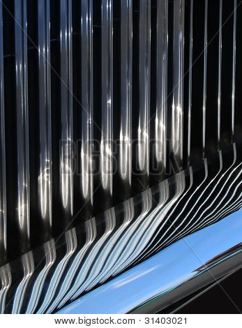 Reflective Car Grille
