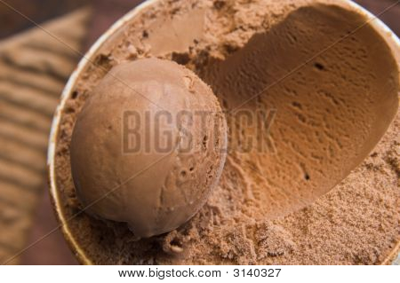 Scoop Of Ice Cream