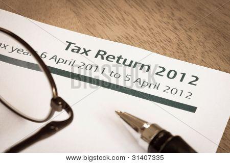 Declaración de impuestos 2012