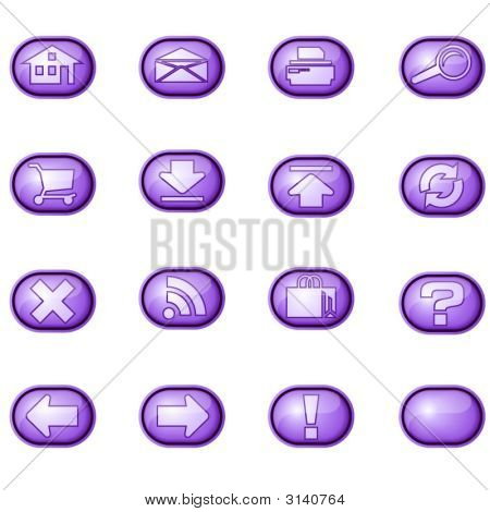 Web Icons A, Purple