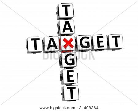 3D Your Target Crossword