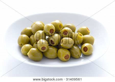 Pimento Stuffed Green Olives