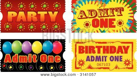 Birthday Party Tickets