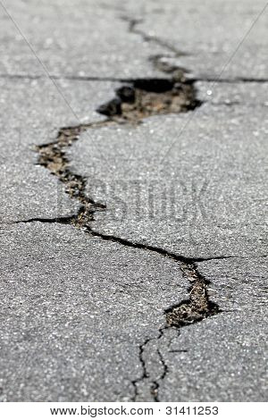 Crack In The Street
