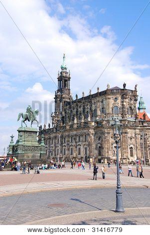Hofkirche Católica de Dresden