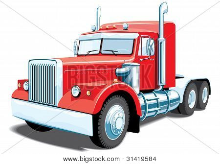 Semi truck (My design)