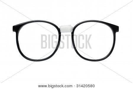 Nerd Glasses with Clipping Path